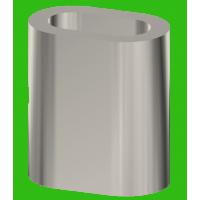 Manicotto in acciaio inox