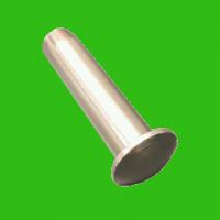 Terminaison à tête cylindrique bombée à sertir