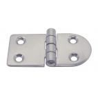 Semi-oval hinge
