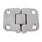 Single hinge, 4 holes