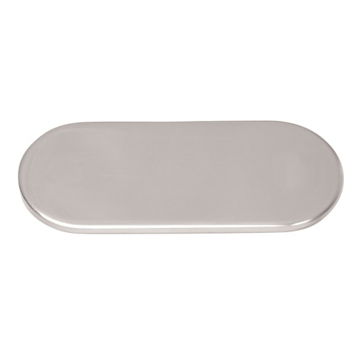 Counter plate, oval