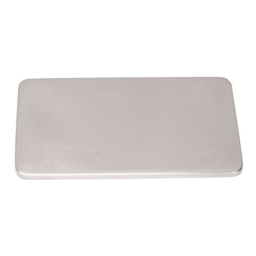 Counter plate, rectangular