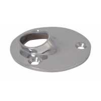 Round base for welding, 60°
