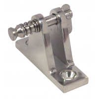 Deck hinge, 90° with removable pin