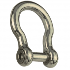 Bow shackle with hexagon socket