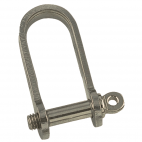 Flat shackle, long