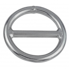 Anello semicircolare con barra