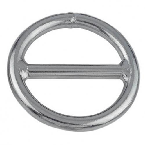 Anneau semi circulaire à barrette