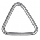 Anneau triangle, soudé et poli