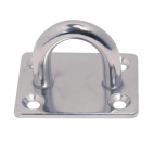 Basi rettangolari stampate con anello saldato