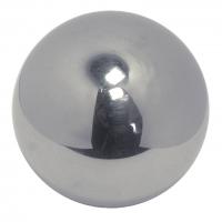 Boule massive polie avec filetage intérieur