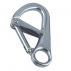 Safety spring hook with double locking equipment