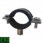 Plastic pipe rubber clamp A2