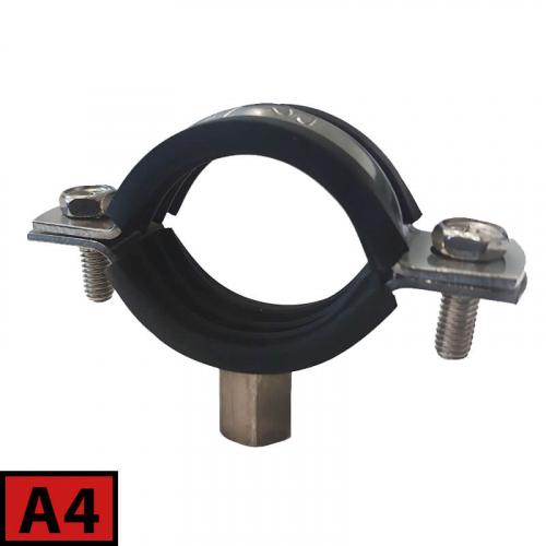 Plastic pipe rubber clamp A4