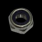 Dadi esagonali autobloccanti in acciaio inox A4