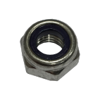 Hexagonal self-locking nuts stainless steel A4 DIN 985