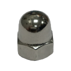 Blind hexagonal nuts high form A4 DIN 1587