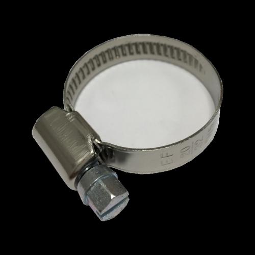 Collier de serrage à crémaillère forme A