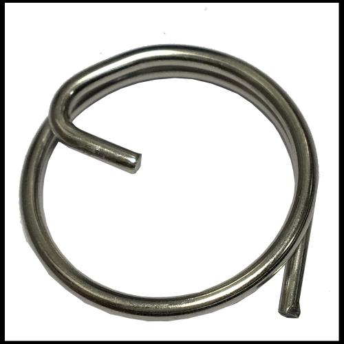 Goupille anneau brisé