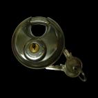 Round padlock