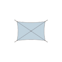 Voile Dickson rectangulaire sur mesure