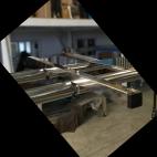 Support panneau solaire adaptable sur arceau