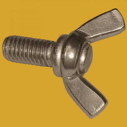 Stainless steel wing screws American type A4