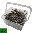 Box of coutersunk screws to terrace A2