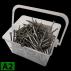 Caja de tornillos con terraza de cabeza avellanada A2