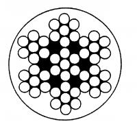 Câble souple gainé blanc