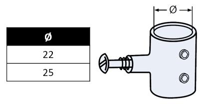 Collier de capote pour tube